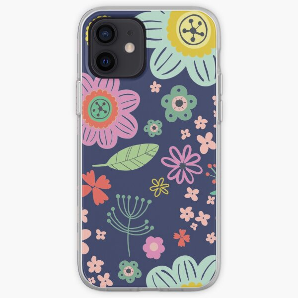 flower pattern iPhone Soft Case