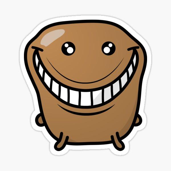 Jagaimo The Potato - The Grin Sticker