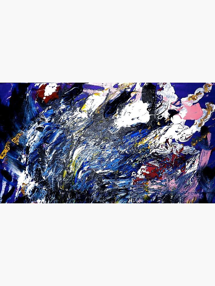 """Tempest"":  Acrylic on Canvas by newlight"