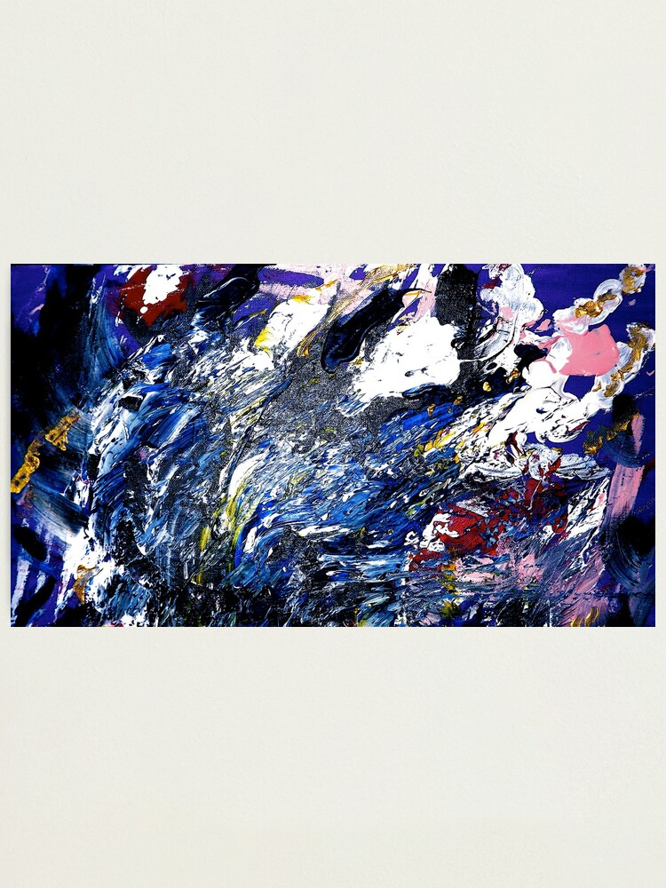 """Alternate view of """"Tempest"""":  Acrylic on Canvas Photographic Print"""