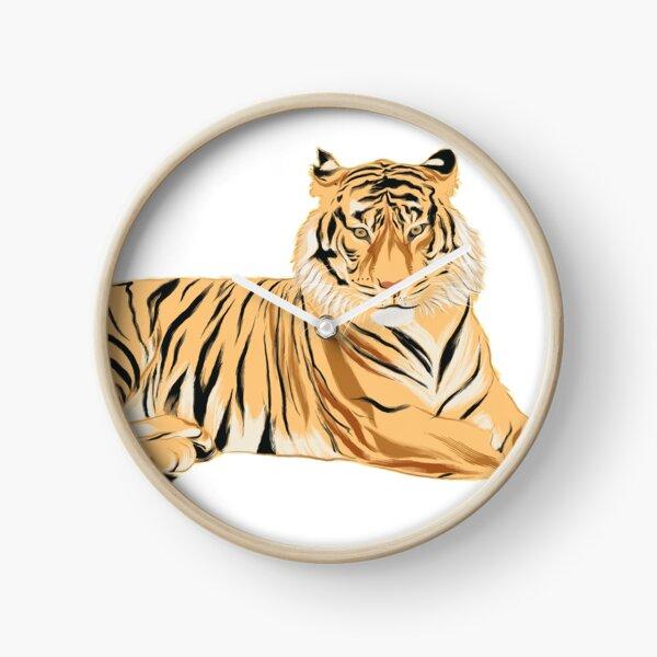 Tigre - Minimalist Horloge