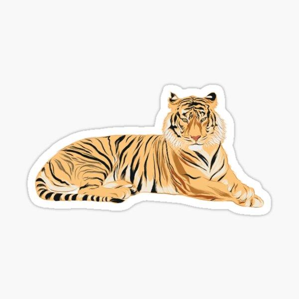 Tigre - Minimalist Sticker
