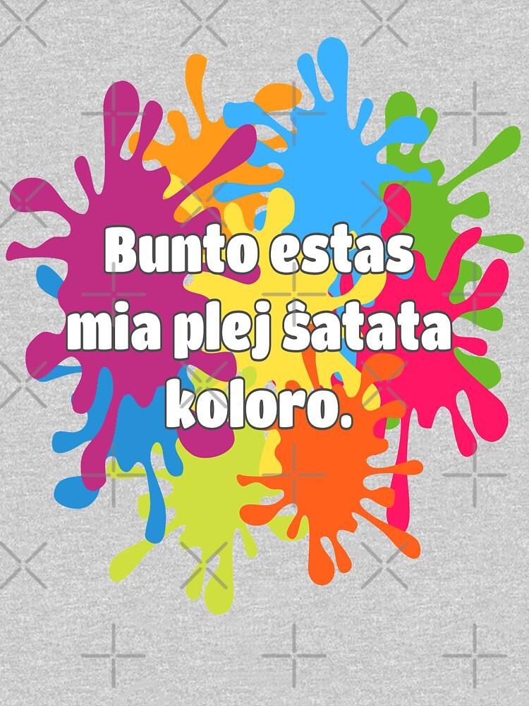 Bunto estas mia plej ŝatata koloro (longa versio) by tannie