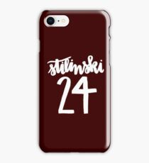 Stiles Stilinski Lacrosse Number - Teen Wolf iPhone Case/Skin