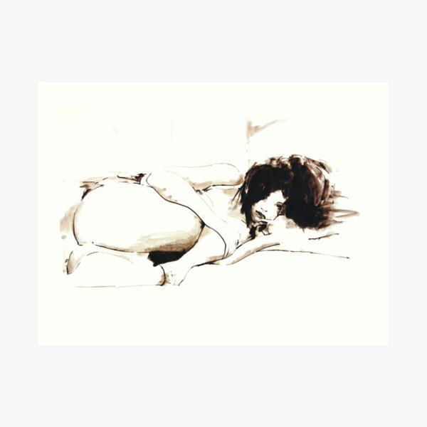 Nude II Art Print