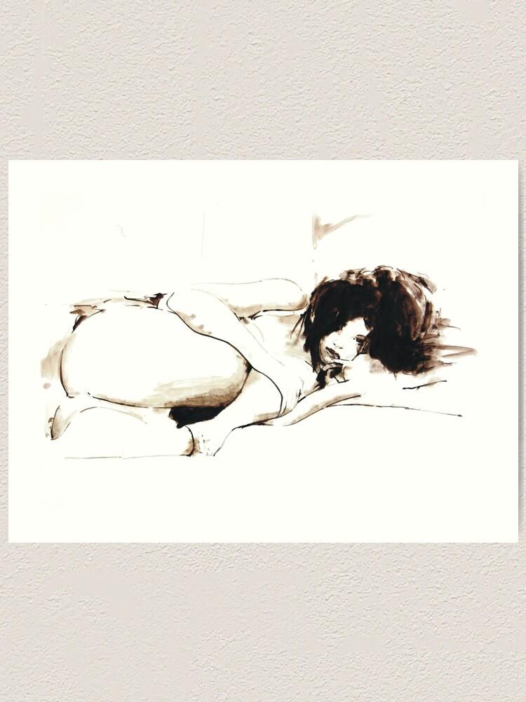 Alternate view of Nude II Art Print
