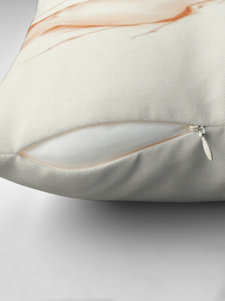 Alternate view of Tommy Reclining, Sketch Throw Pillow