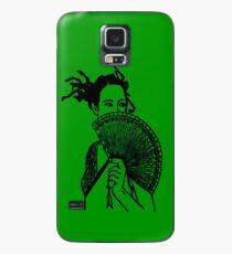 """""""Geisha Girl"""" (green)  - phone Case/Skin for Samsung Galaxy"""