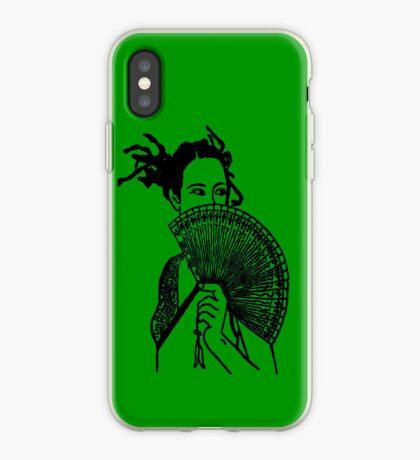 """Geisha Girl"" (green)  - phone iPhone Case"