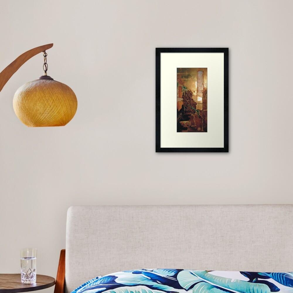 Artefact Framed Art Print
