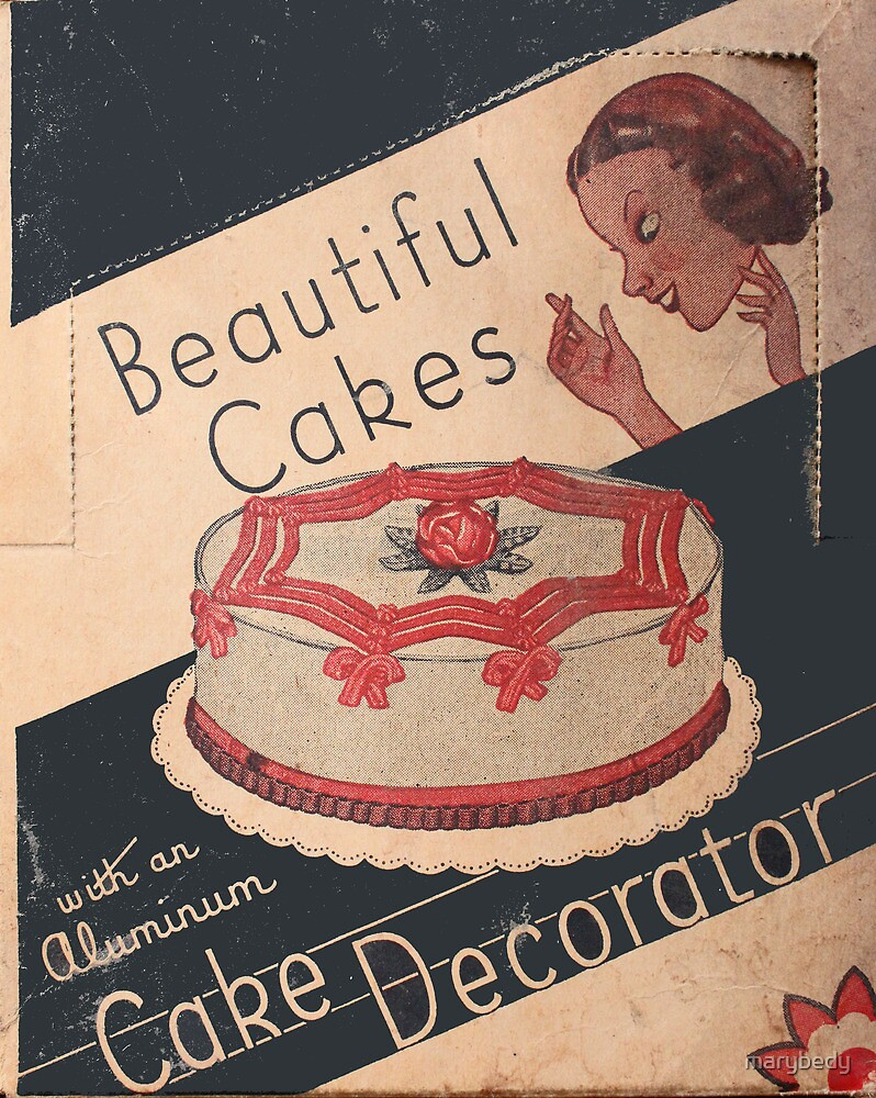 Cake Decorator by marybedy