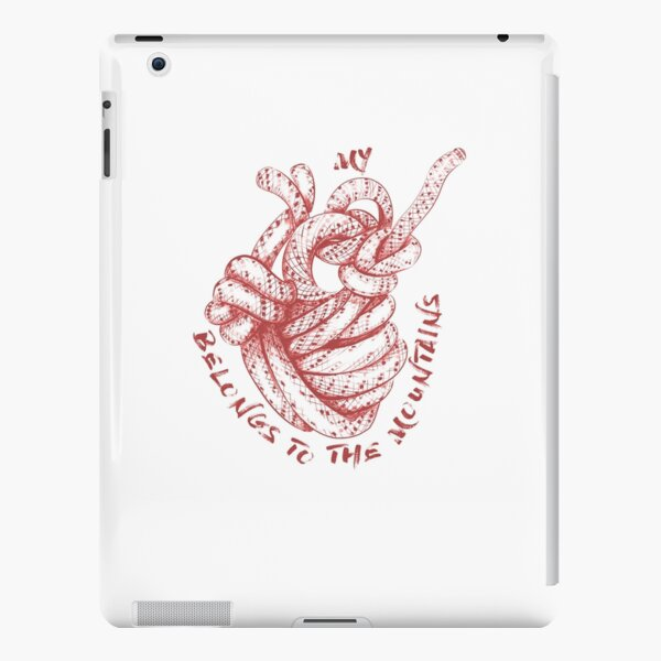 Copy of My Heart Belongs To The Mountains - #4 Red iPad Snap Case