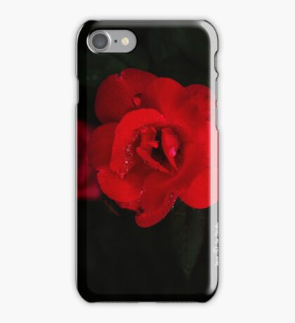 Crimson Lady  iPhone Case/Skin