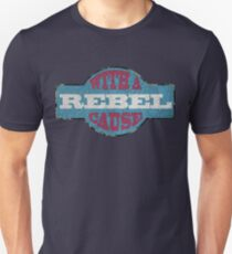 Rebel with a cause Slim Fit T-Shirt