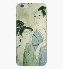 The Lovers Ochiyo and Handei iPhone Case iPhone Case