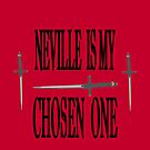 Neville is My Chosen One iPhone Case by carls121