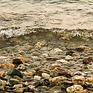 Sea and pebbles - Lesvos Island by George Limitsios