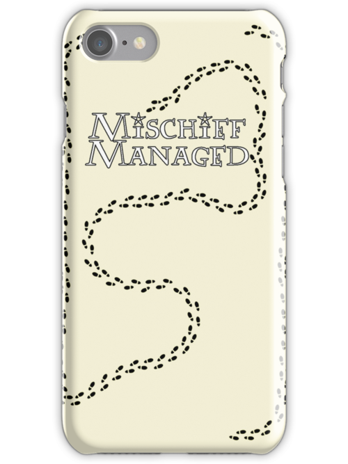 Mischief Managed iPhone Case by carls121