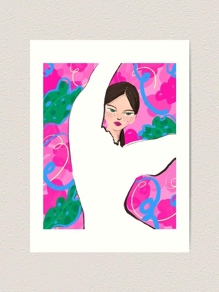 Alternate view of Dancing Lady Art Print