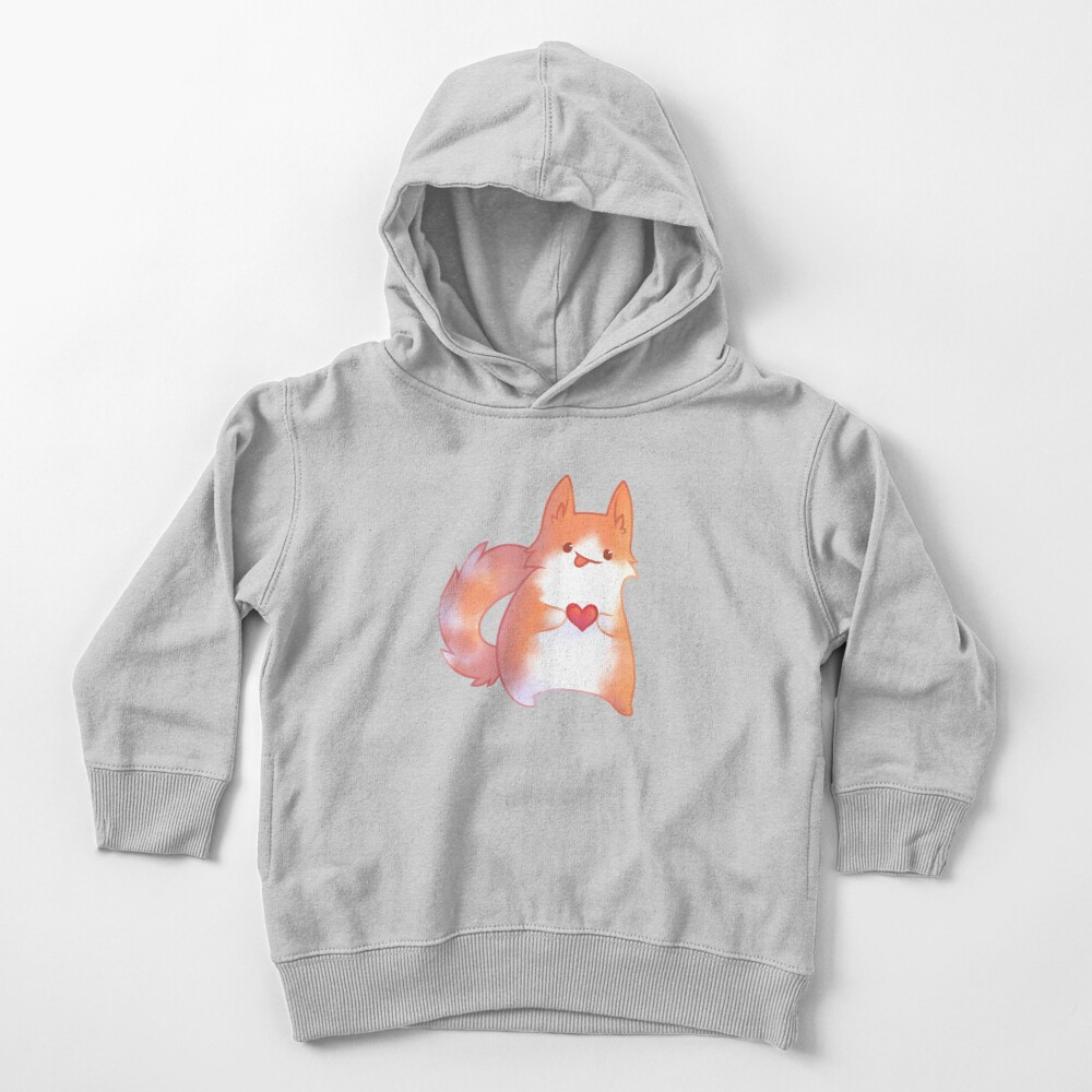 Ginger Cat Toddler Pullover Hoodie