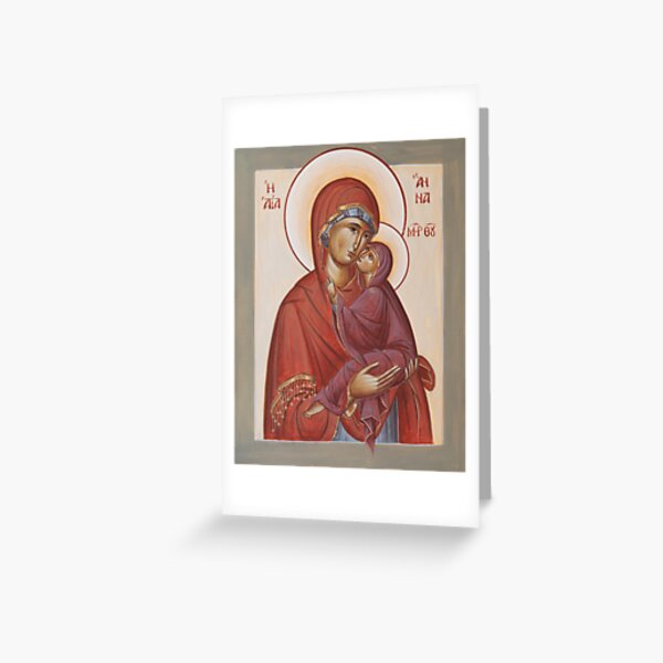 St Anna Greeting Card