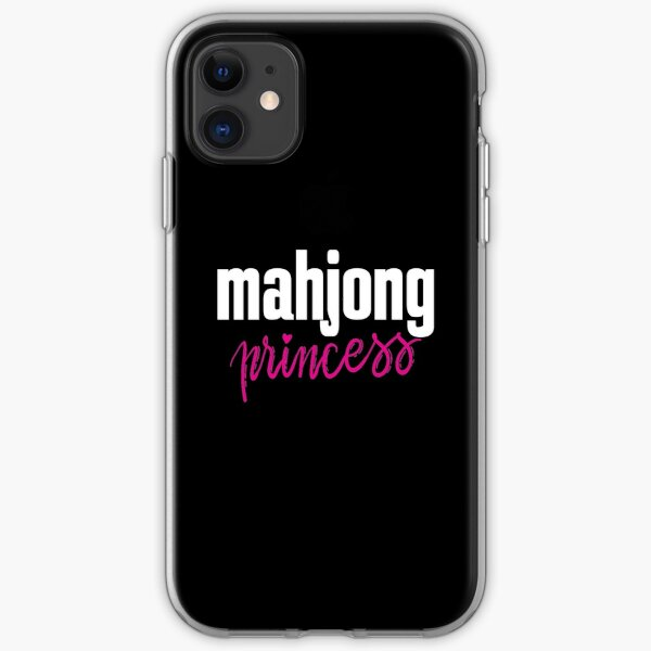 Mahjong Princess iPhone Soft Case