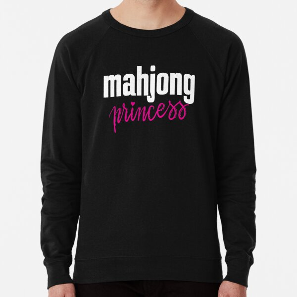 Mahjong Princess Lightweight Sweatshirt