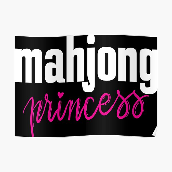Mahjong Princess Poster