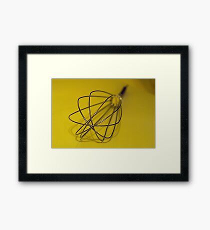 An Egg Beater Framed Print