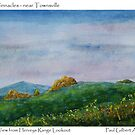 The Pinnacles -From Hervey Range lookout by Paul Gilbert
