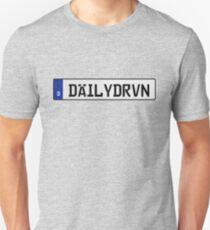 Euro plate - dailydrvn T-Shirt