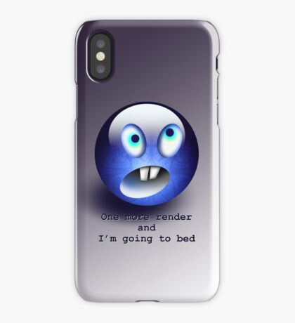 T-One more render  iPhone Case