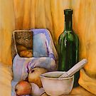 yellow still life by Tania Richard