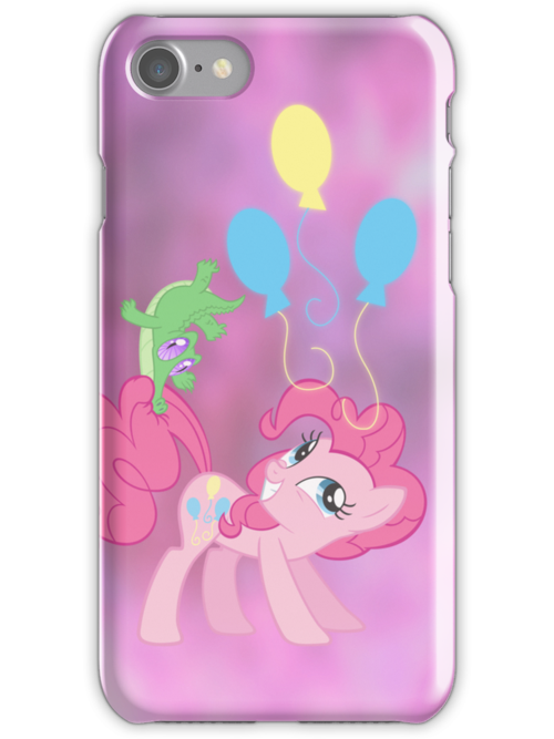 PINKIE PIE iPhone case by SilverPonyWare