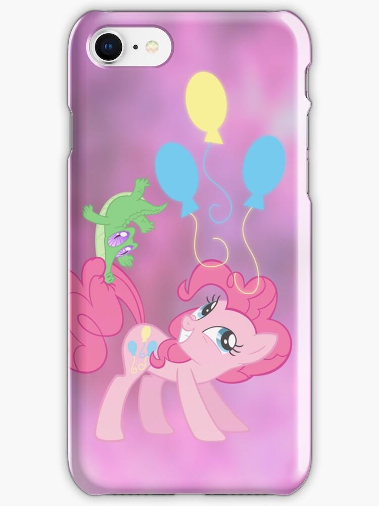PINKIE PIE iPhone case by SilverPonyWare