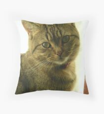 Did you get my good side? Throw Pillow