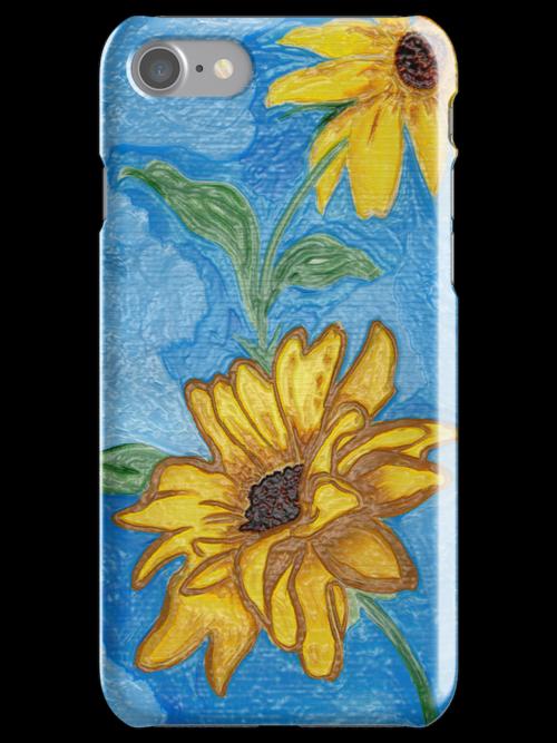 Lil' Bit of Sunshine iPhone Case by Anne Gitto