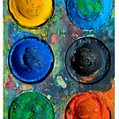 iPhone Case - Artist Pallette 5 by Orla Cahill Photography