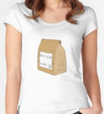 DEAD DOVE- Do Not Eat Women's Fitted Scoop T-Shirt