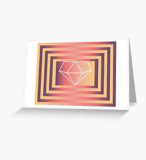 geometress Greeting Card