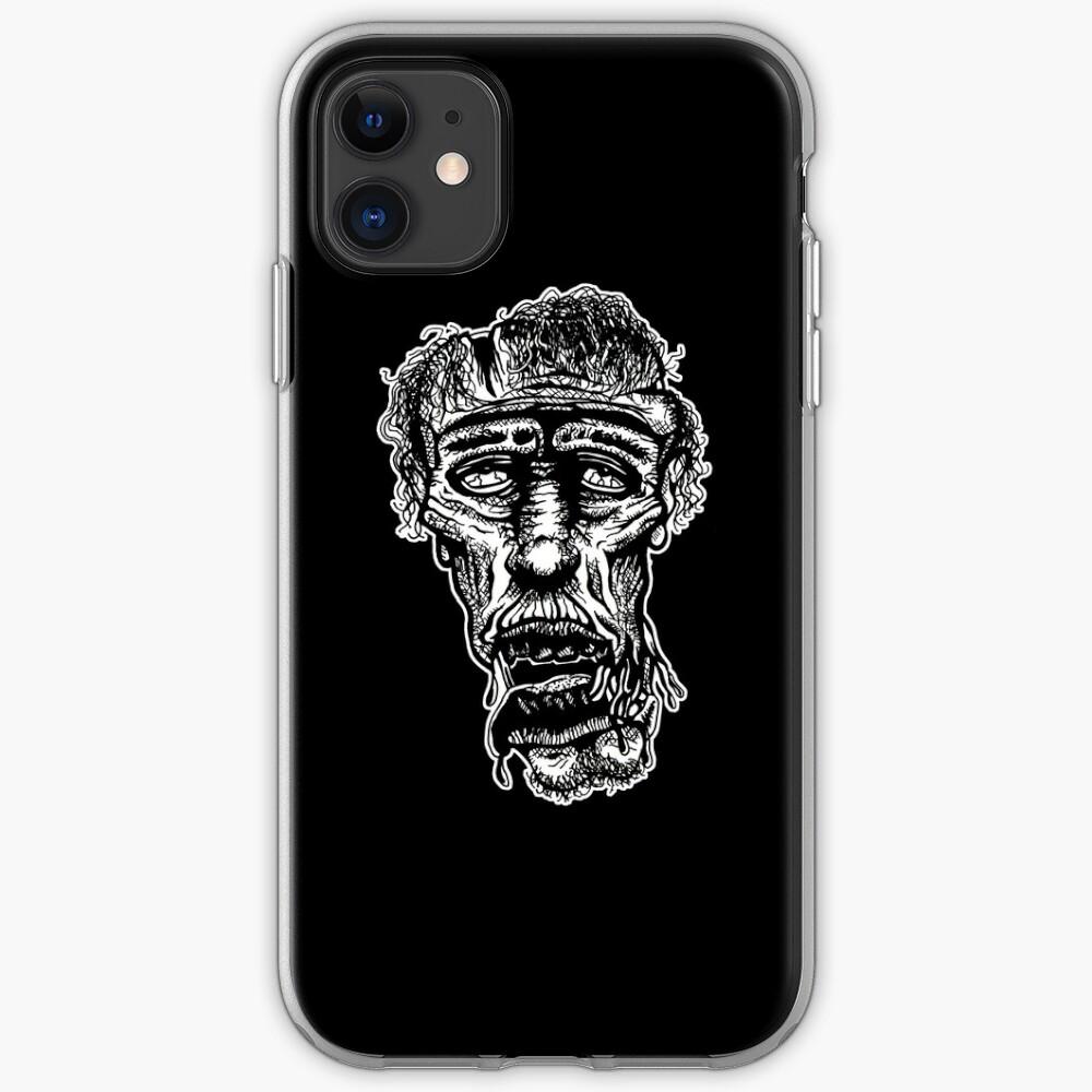 Slack-Jaw Zombie iPhone Soft Case