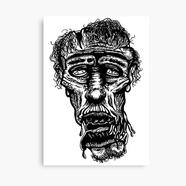 Slack-Jaw Zombie Canvas Print