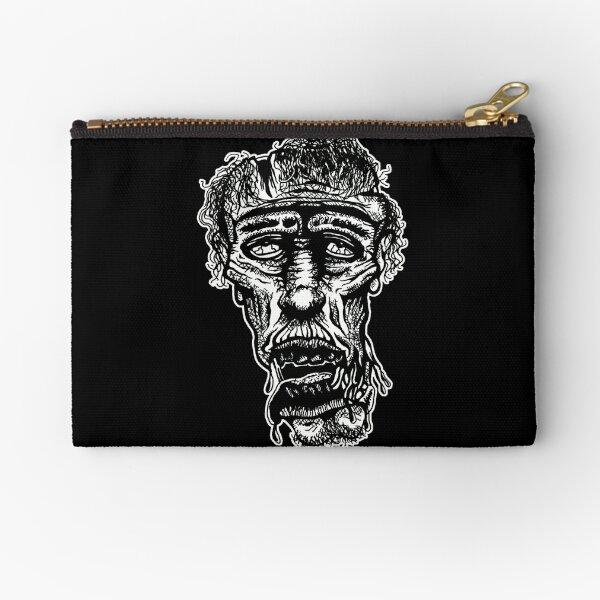 Slack-Jaw Zombie Zipper Pouch