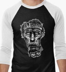 Slack-Jaw Zombie Baseball ¾ Sleeve T-Shirt