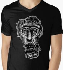 Slack-Jaw Zombie V-Neck T-Shirt