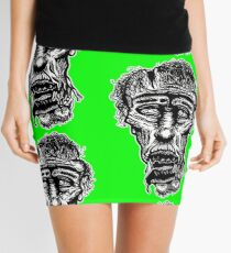 Slack-Jaw Zombie Mini Skirt