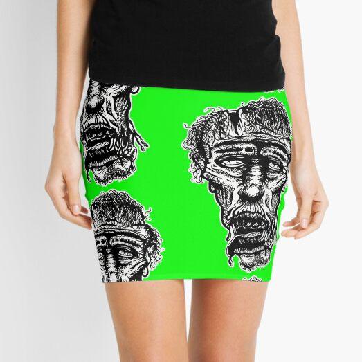 Slack-Jaw Zombie Mini Skirt