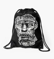Slack-Jaw Zombie Drawstring Bag