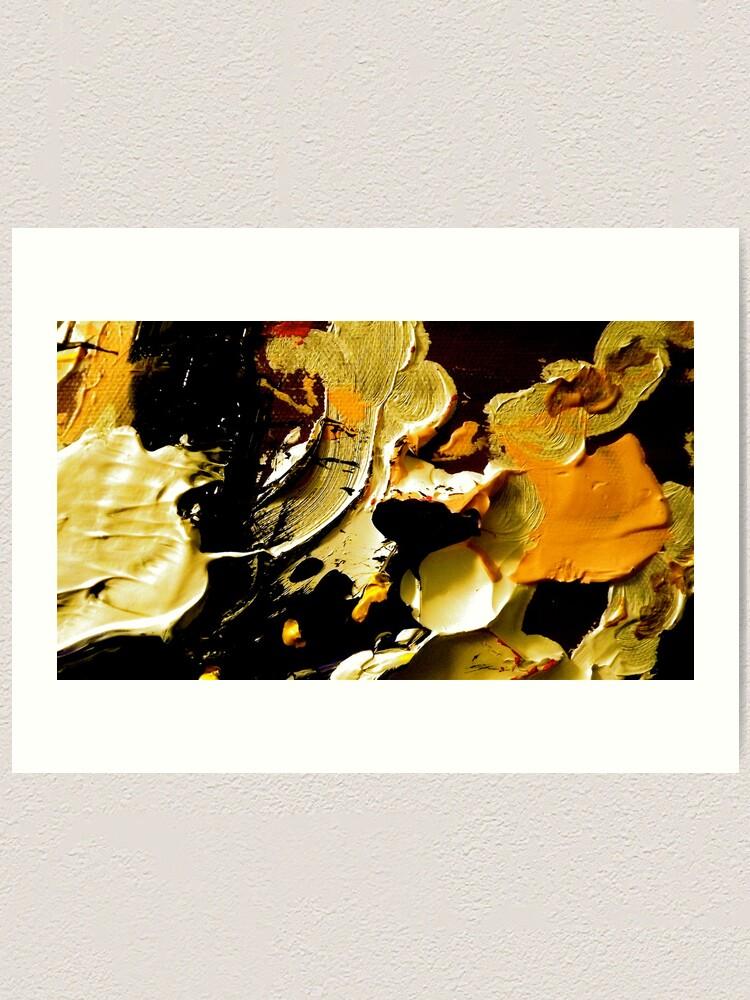 Alternate view of Detail from Tempest:  Crisp Fall Art Print