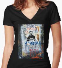 Ai Wei Wei Women's Fitted V-Neck T-Shirt